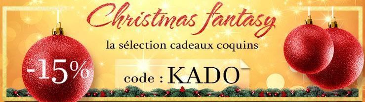 Christmas Fantasy, la selection cadeaux coquins