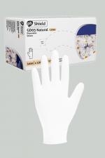 100 gants chirurgicaux en latex blanc : Boite de 100 gants jetables en latex blancs pour jouer au docteur.