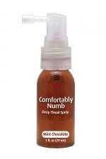 Spray pour fellation - menthe chocolat : Spray parfumé à la menthe chocolat pour pratiquer agréablement une gorge profonde.