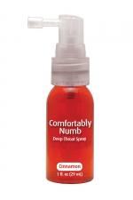 Spray pour fellation - canelle : Spray aromatisé à la canelle pour pratiquer agréablement une gorge profonde.