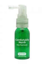 Spray pour fellation - menthe verte : Spray aromatisé à la menthe verte pour pratiquer agréablement une gorge profonde.
