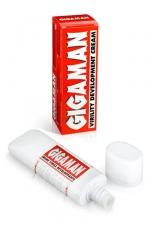 Crème virile développante  Gigaman : La crème de massages pour hommes indispensable pour avoir une verge en grande forme.