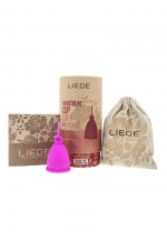 Cup menstruelle rose petite taille - Liebe