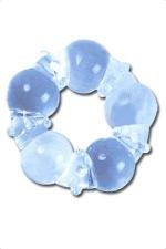 Anneau de penis silicone : Le super stretch silicon ring: une bague d'érection en silicone super extensible.