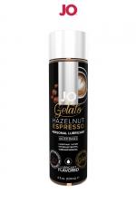Lubrifiant aromatisé Café à la noisette - 120ml : Lubrifiant aromatisé comestible parfum café à la noisette au format 120 ml de la marque Américaine System Jo.