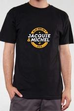 T-shirt Jacquie & Michel n°3 : Le Teeshirt exclusif (visuel 3) à l'effigie de  Jacquie & Michel, votre site amateur préféré.
