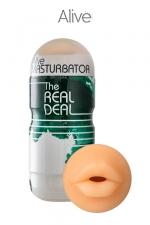 Masturbateur masculin oral - Alive : Un super masturbateur pour vivre une expérience de fellation hyper réaliste.