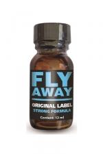 Poppers Fly Away : Fly Away est un poppers aux effets intenses, à base d'isopropyle, en flacon concentré de 13ml.