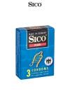 3 préservatifs Sico PEARL