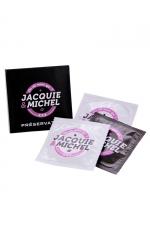 Pochette de 3 préservatifs Jacquie et Michel
